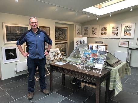 Dr Rob Davies at Rookwood Art Gallery