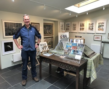 Dr Rob Davies at Rookwood Art Gallery
